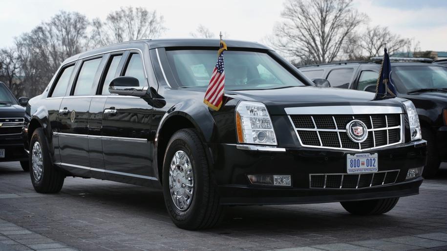 Кадилак создал новый лимузин для Дональда Трампа