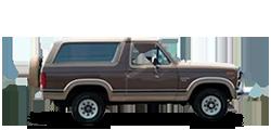 Ford Bronco-II 1984-1990