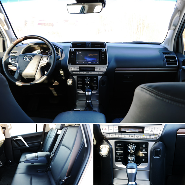 Toyota Land Cruiser Prado коллаж фото