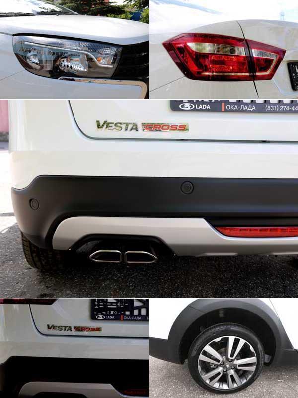 Lada Vesta Cross фото